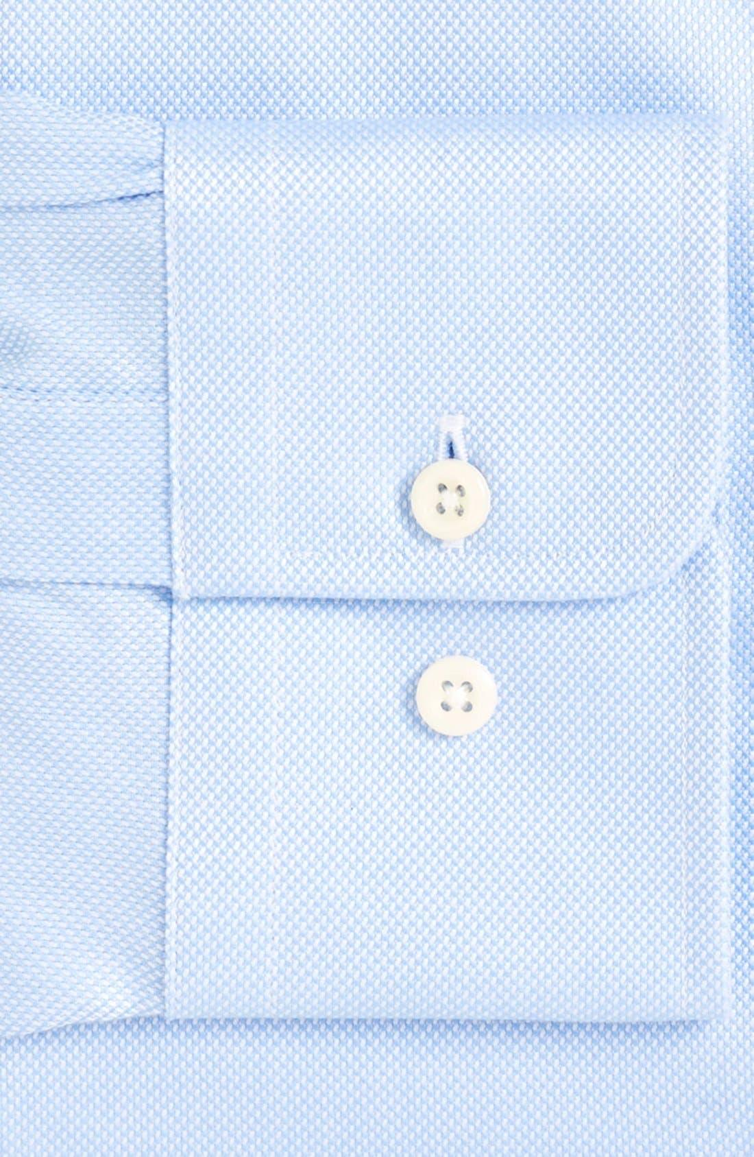 Alternate Image 4  - David Donahue Regular Fit Oxford Dress Shirt