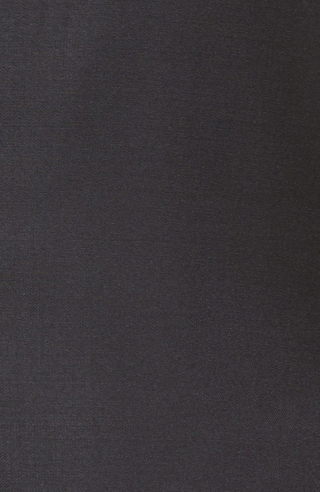 Flynn Classic Fit Solid Wool Suit,                             Alternate thumbnail 8, color,                             Black