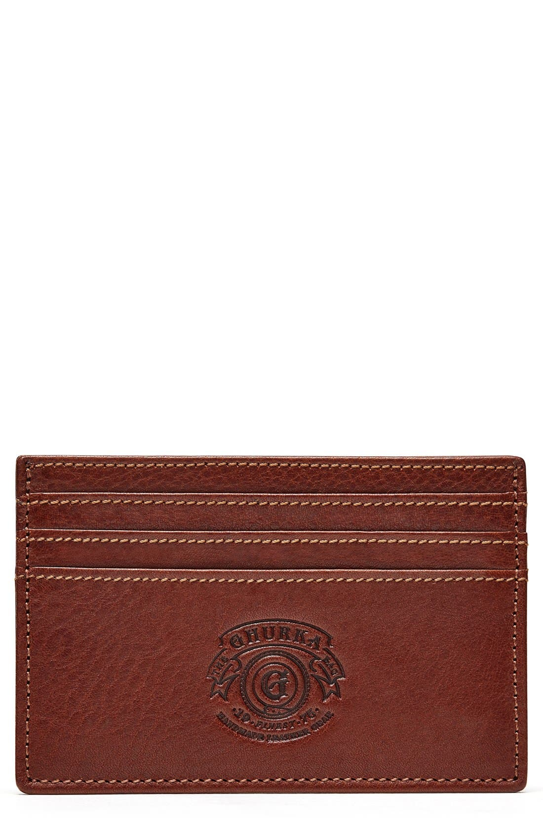 Ghurka Leather Card Case