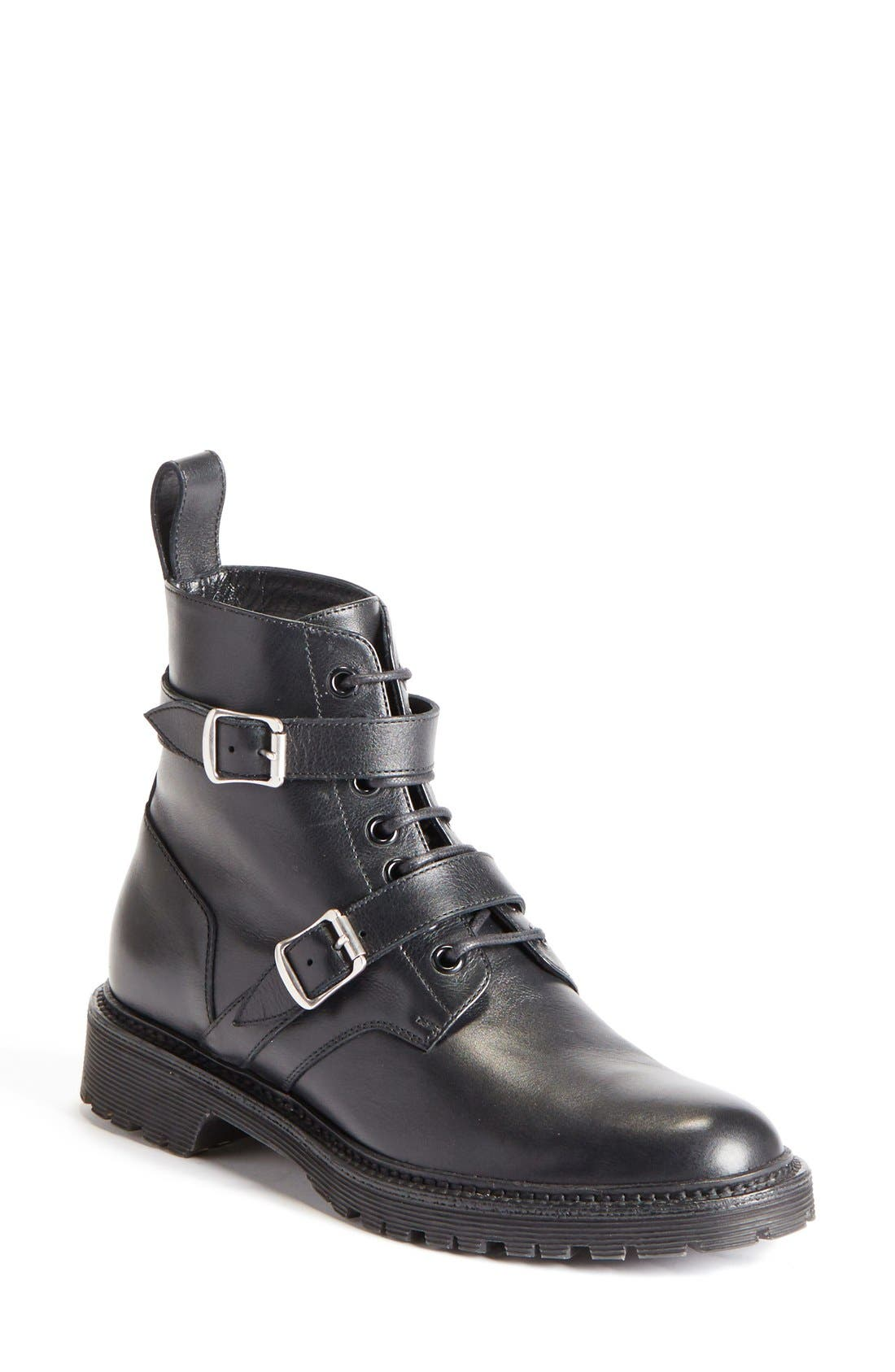 Main Image - Saint Laurent 'Army' Military Bootie (Women)