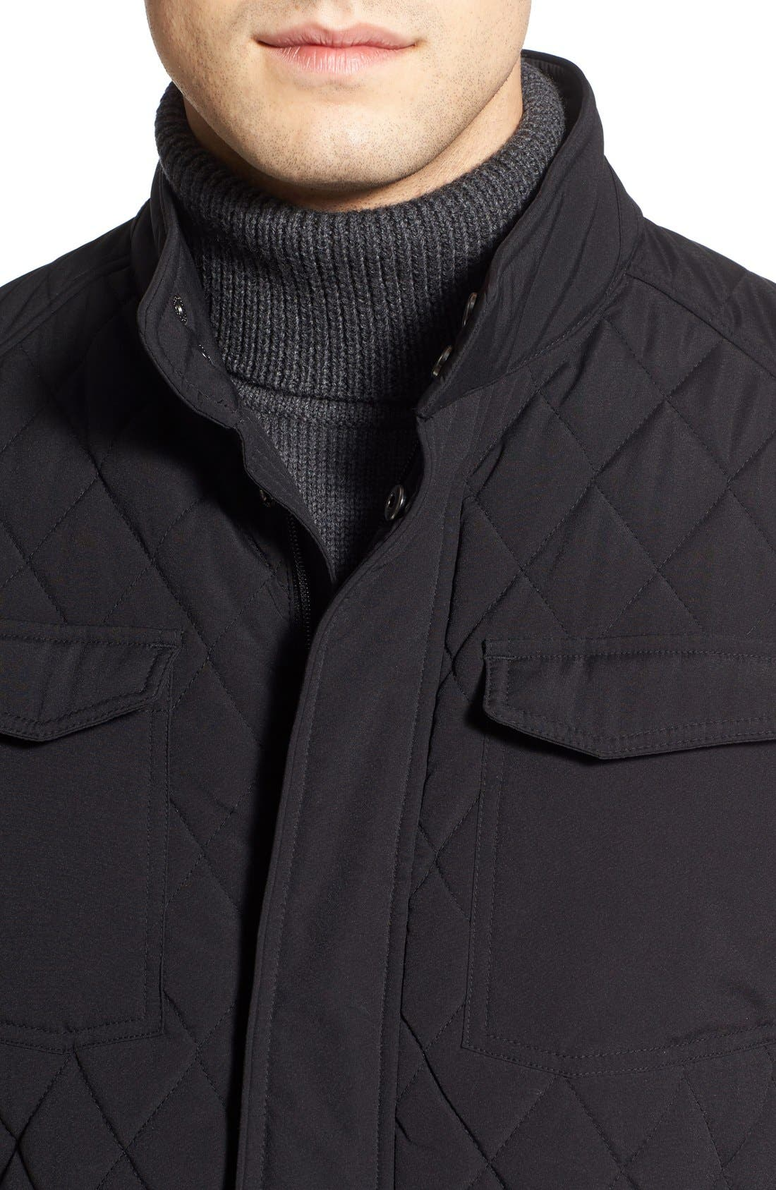 Alternate Image 4  - Tumi Quilted Moto Jacket