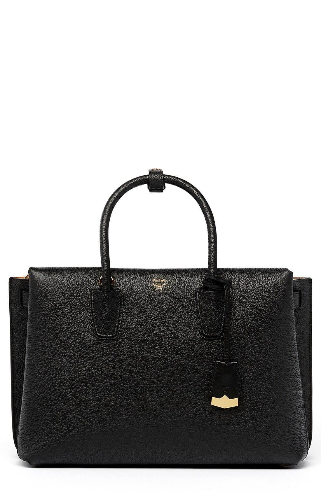 MCM 'Large Milla' Leather Tote