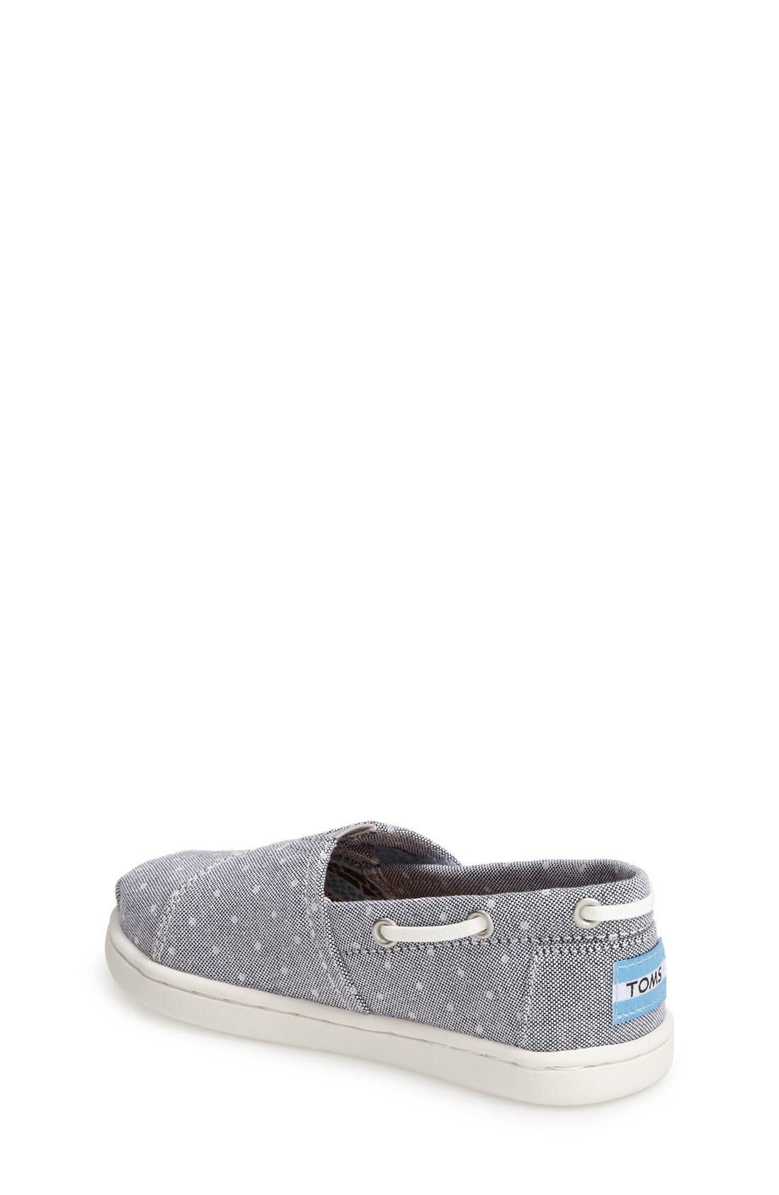 Alternate Image 3  - TOMS 'Bimini - Tiny' Slip-On (Walker & Toddler)