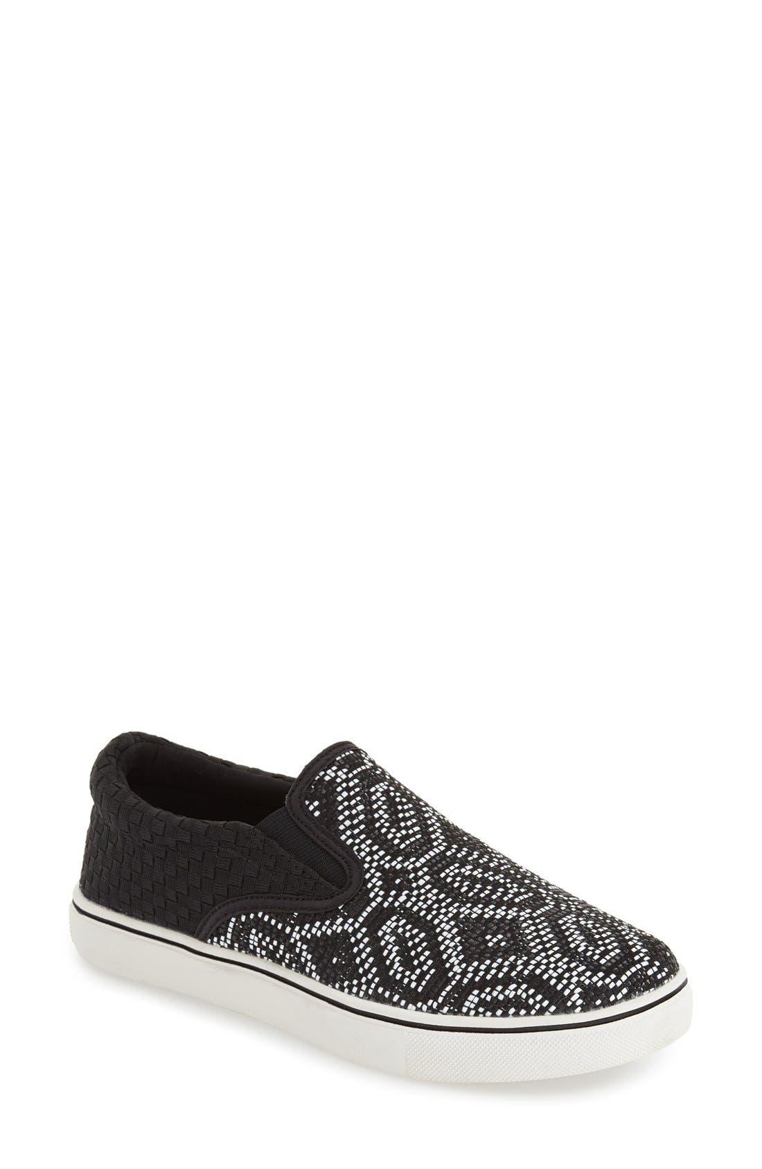 Alternate Image 1 Selected - bernie mev. 'Blair' Slip-On Sneaker (Women)