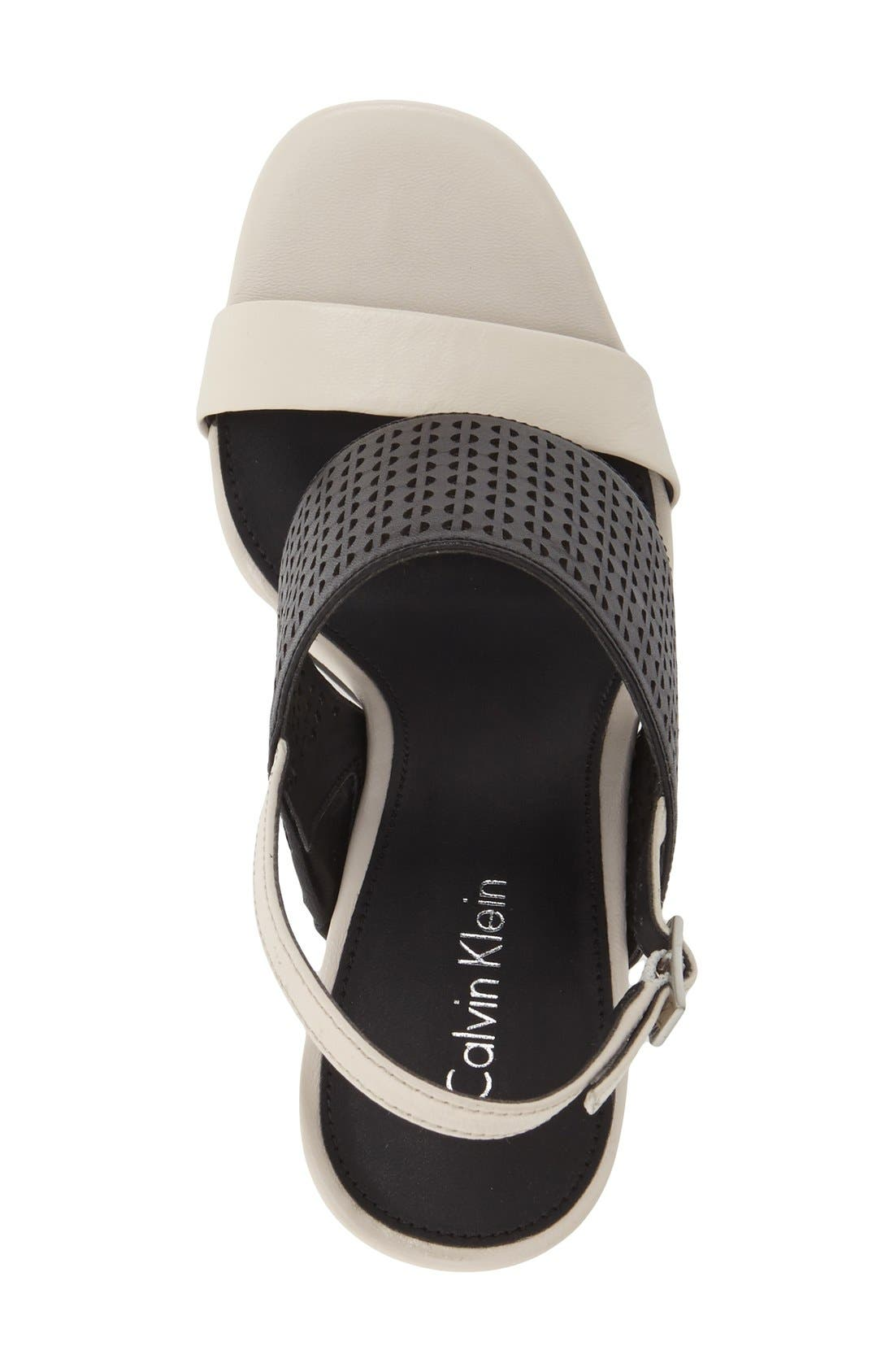 Alternate Image 3  - Calvin Klein 'Breannie' Slingback Platform Sandal (Women)