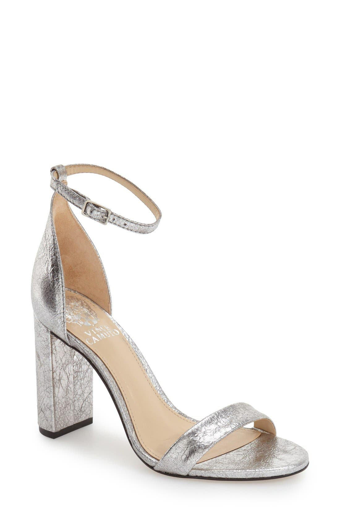 Alternate Image 1 Selected - Vince Camuto 'Mairana' Ankle Strap Sandal (Women)