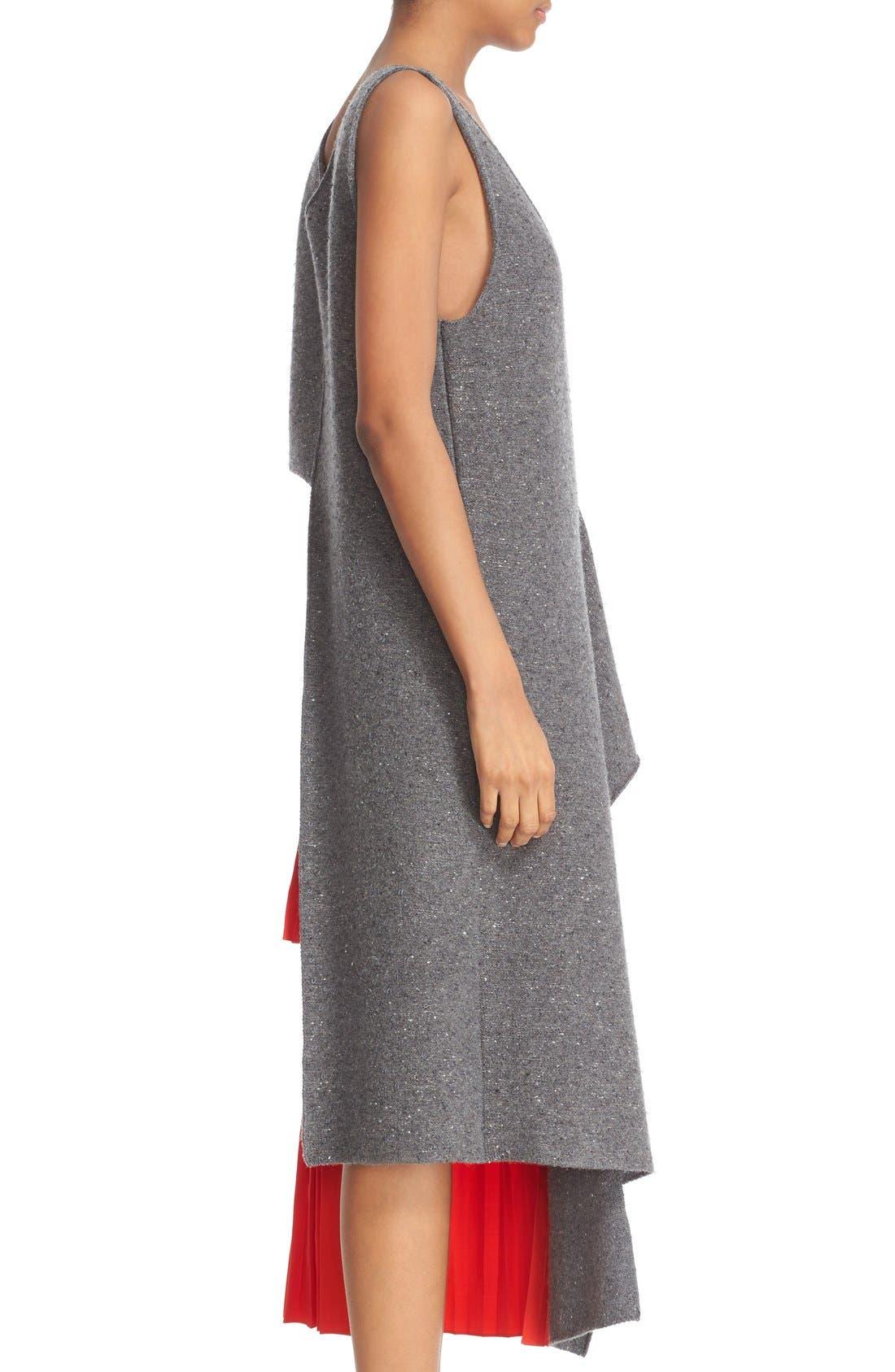 Alternate Image 5  - Stella McCartney Asymmetric High/Low Flannel Top