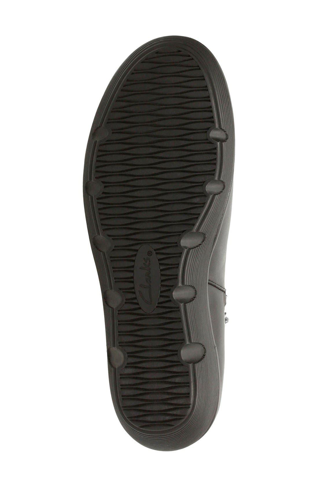 Alternate Image 4  - Clarks® 'Clarene Surf' Wedge Chelsea Boot (Women)