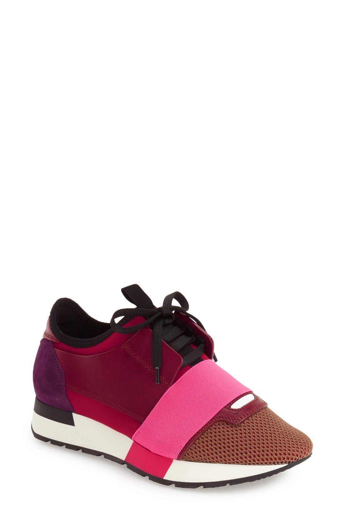 Balenciaga Mixed Media Sneaker (Women)