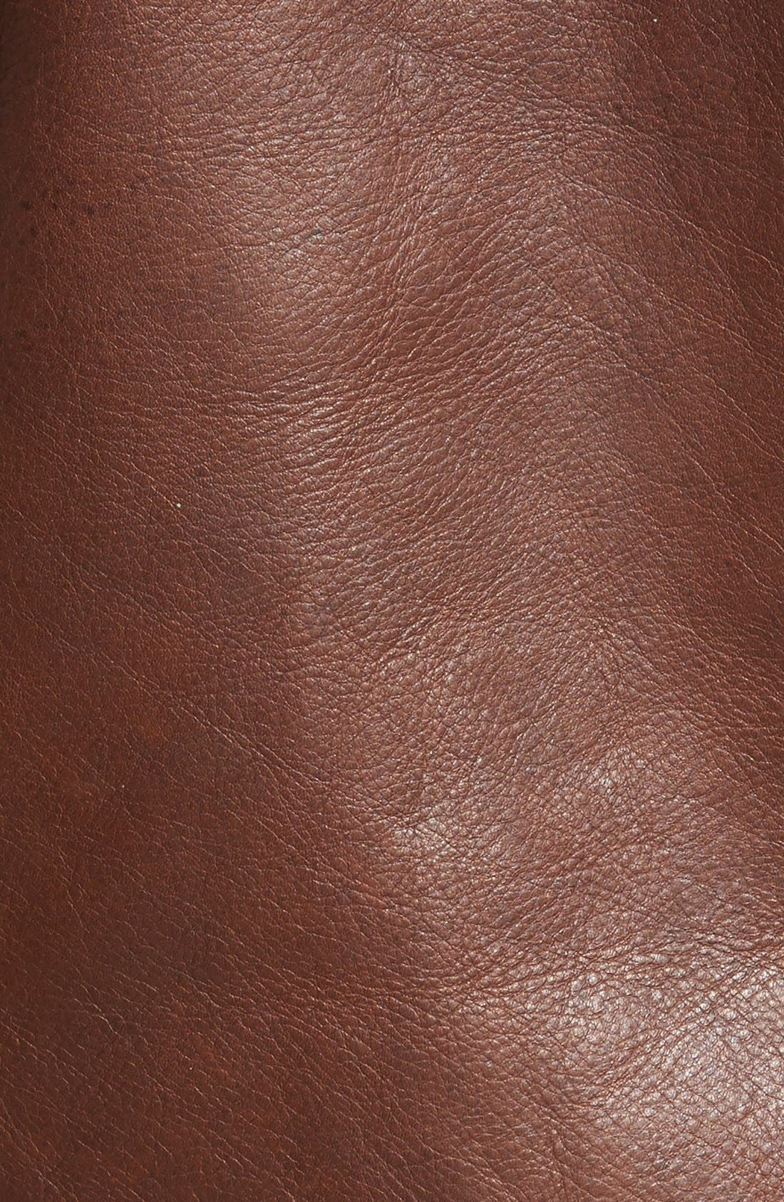 Alternate Image 5  - Schott NYC Perfecto Waxy Leather Moto Jacket
