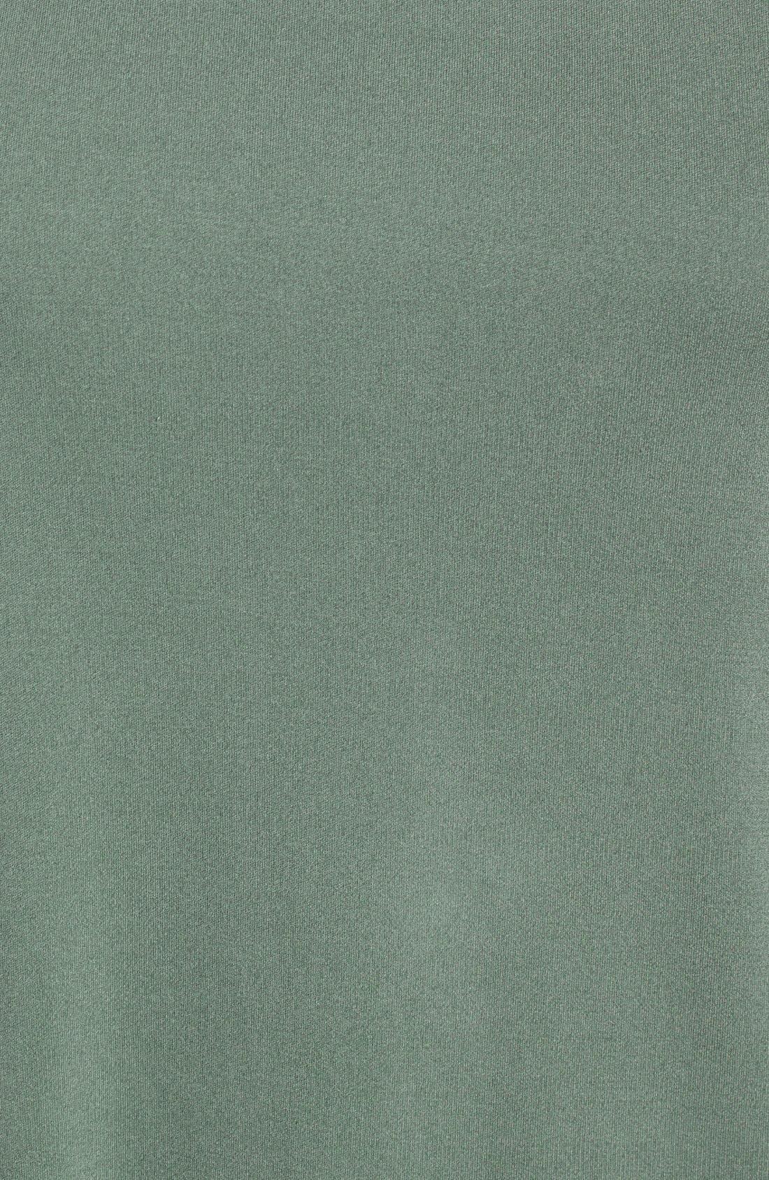 Alternate Image 5  - Eileen Fisher Cap Sleeve Silk Tee (Regular & Petite)