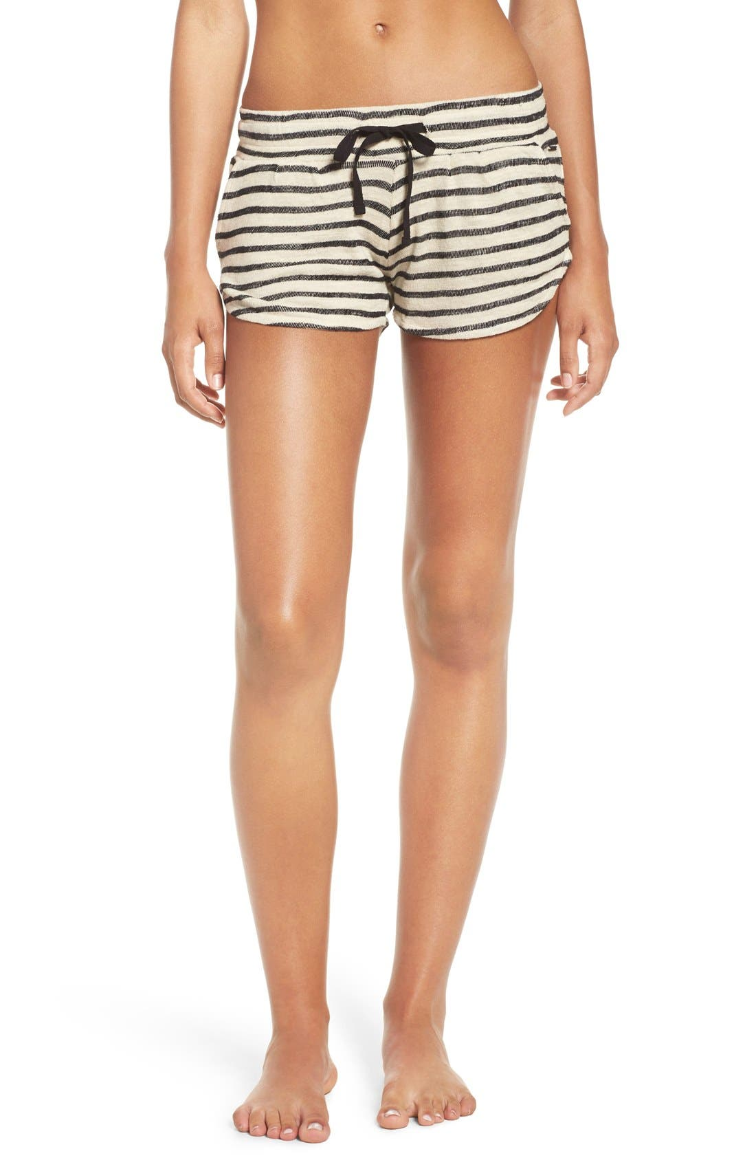 Alternate Image 1 Selected - O'Neill 'Adventure' Stripe Cotton Shorts