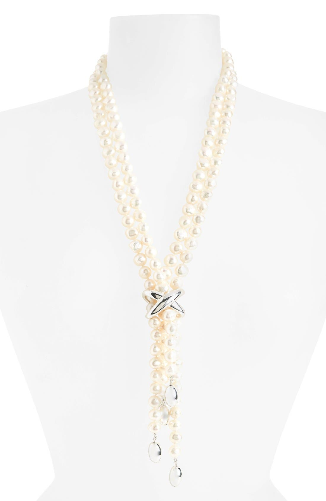 Simon Sebbag Freshwater Pearl Y-Necklace