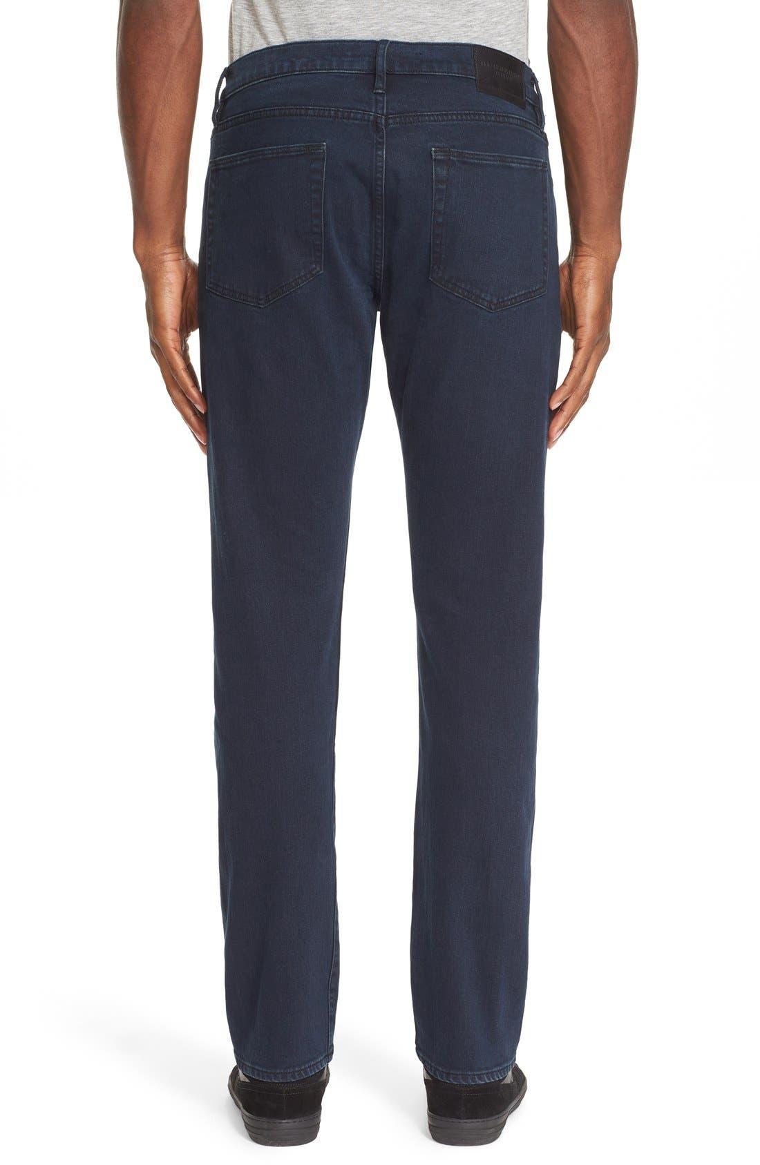 Straight Leg Jeans Jeans,                             Alternate thumbnail 2, color,                             Dark Indigo