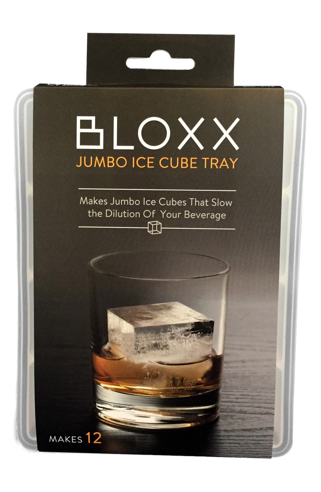 The Original WHISKEY BALL 'Bloxx' Jumbo Ice Tray