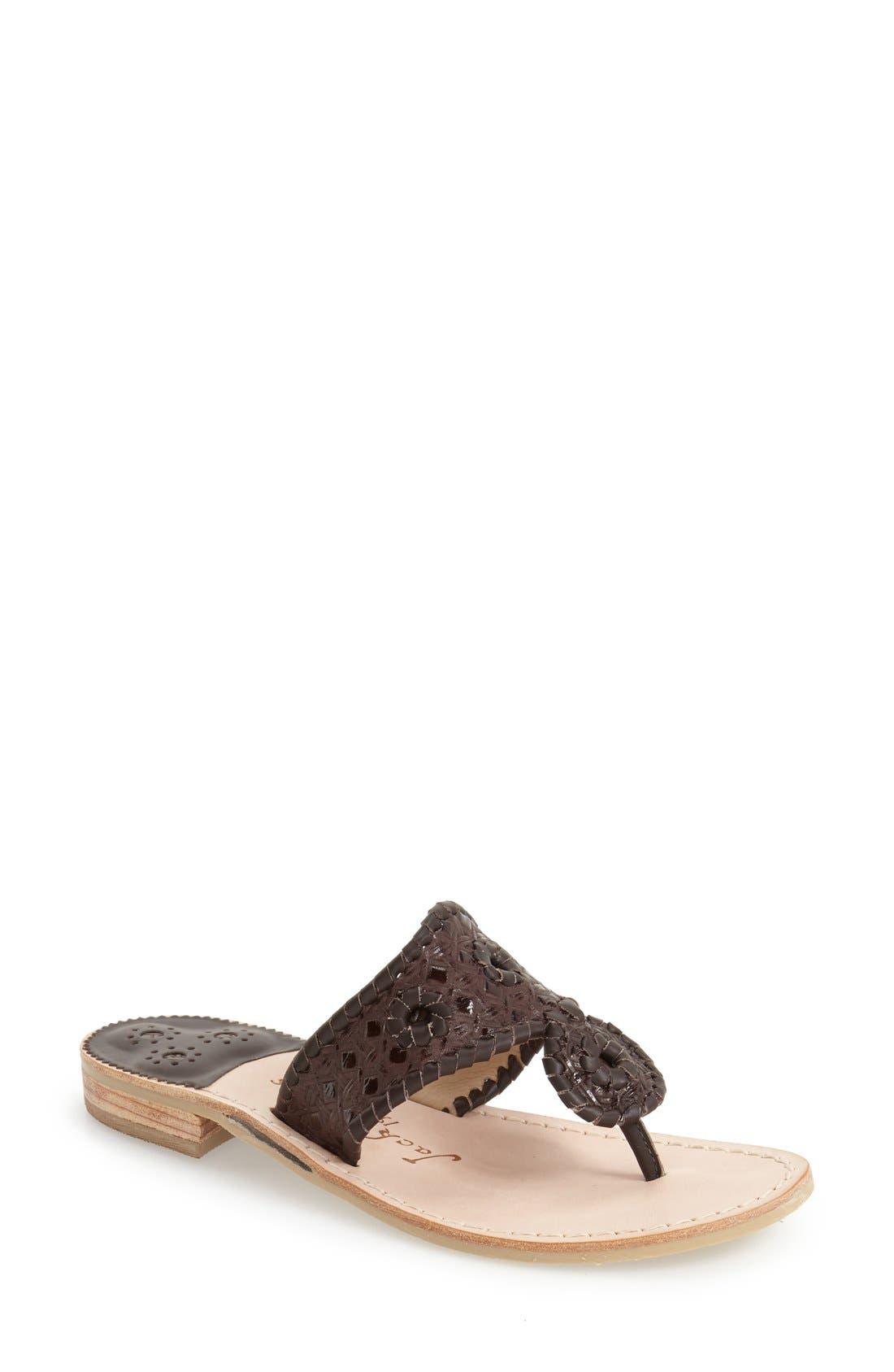 'Tyler' Sandal,                         Main,                         color, Dark Espresso