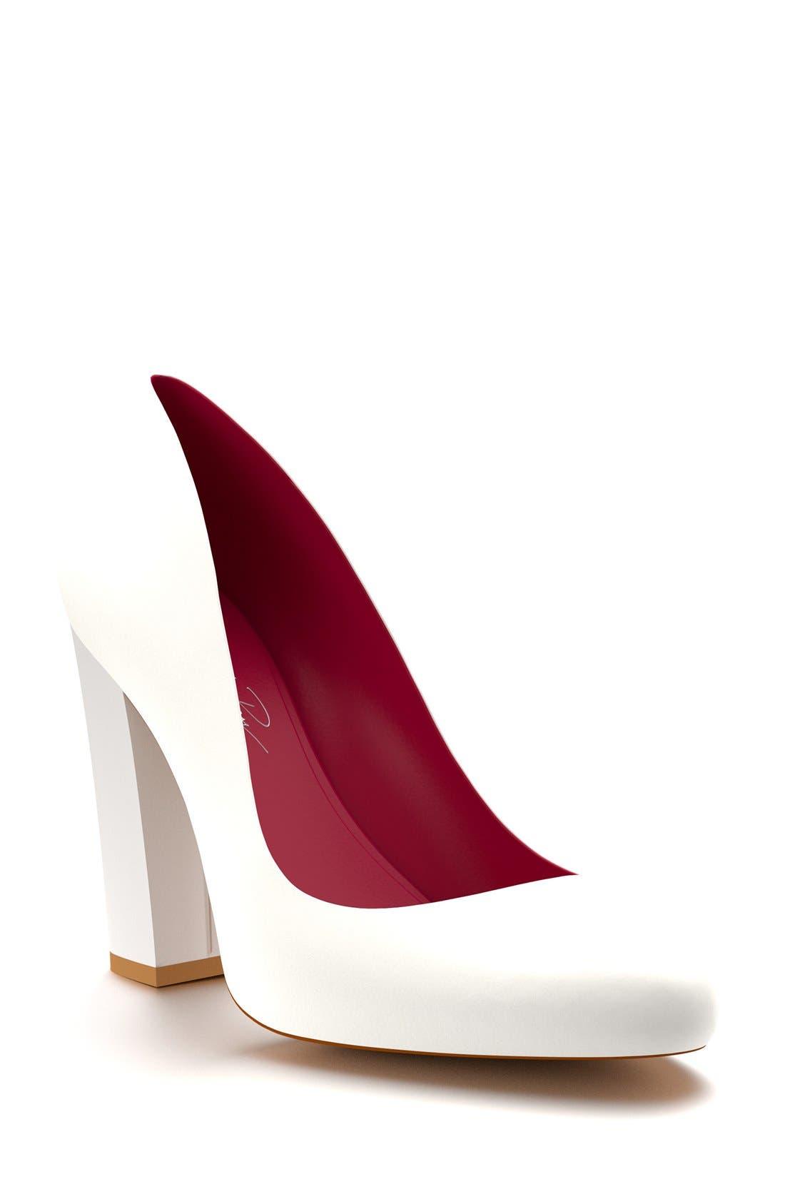 Shoes of Prey Round Toe Pump (Women)
