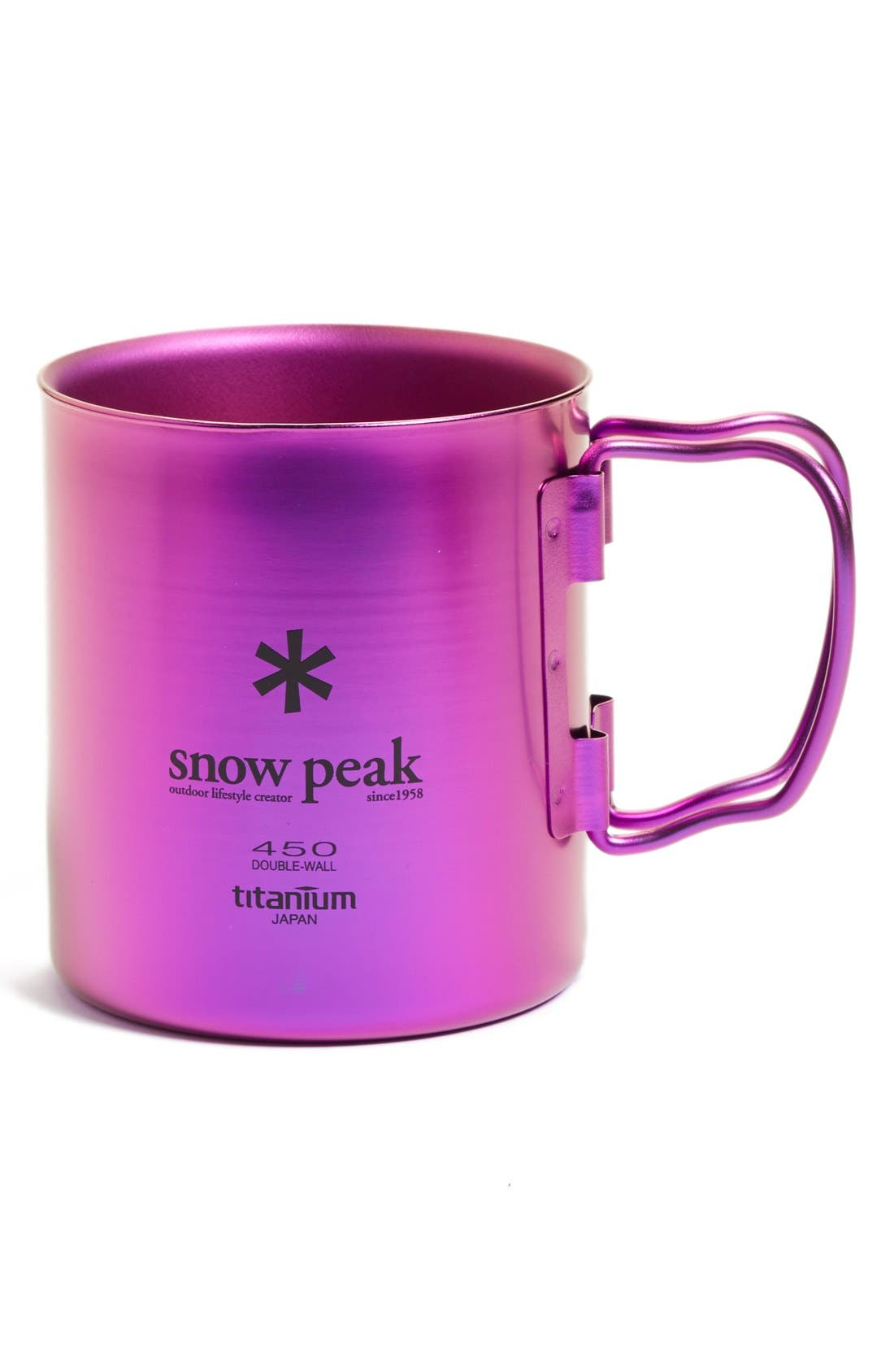 Alternate Image 1 Selected - Snow Peak 'Ti-Double 450' Insulated Titanium Camping Mug