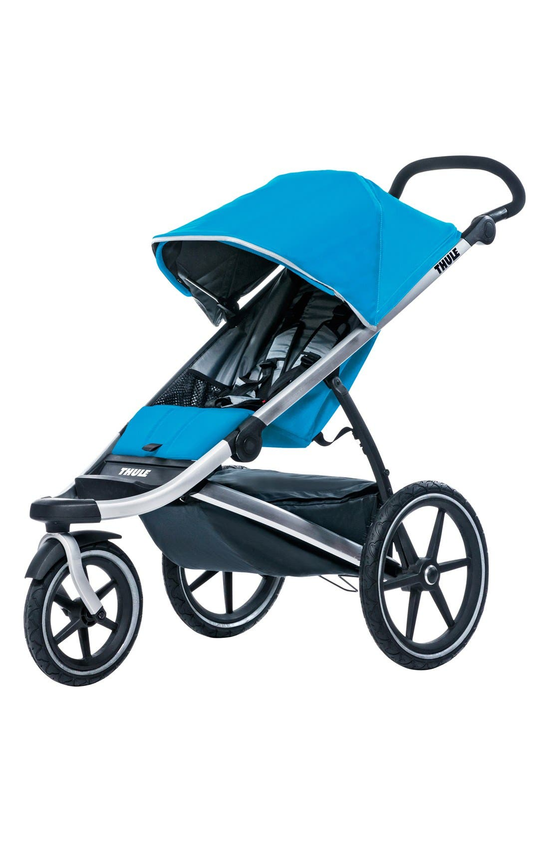 'Urban Glide 1' Jogging Stroller,                         Main,                         color, Thule Blue
