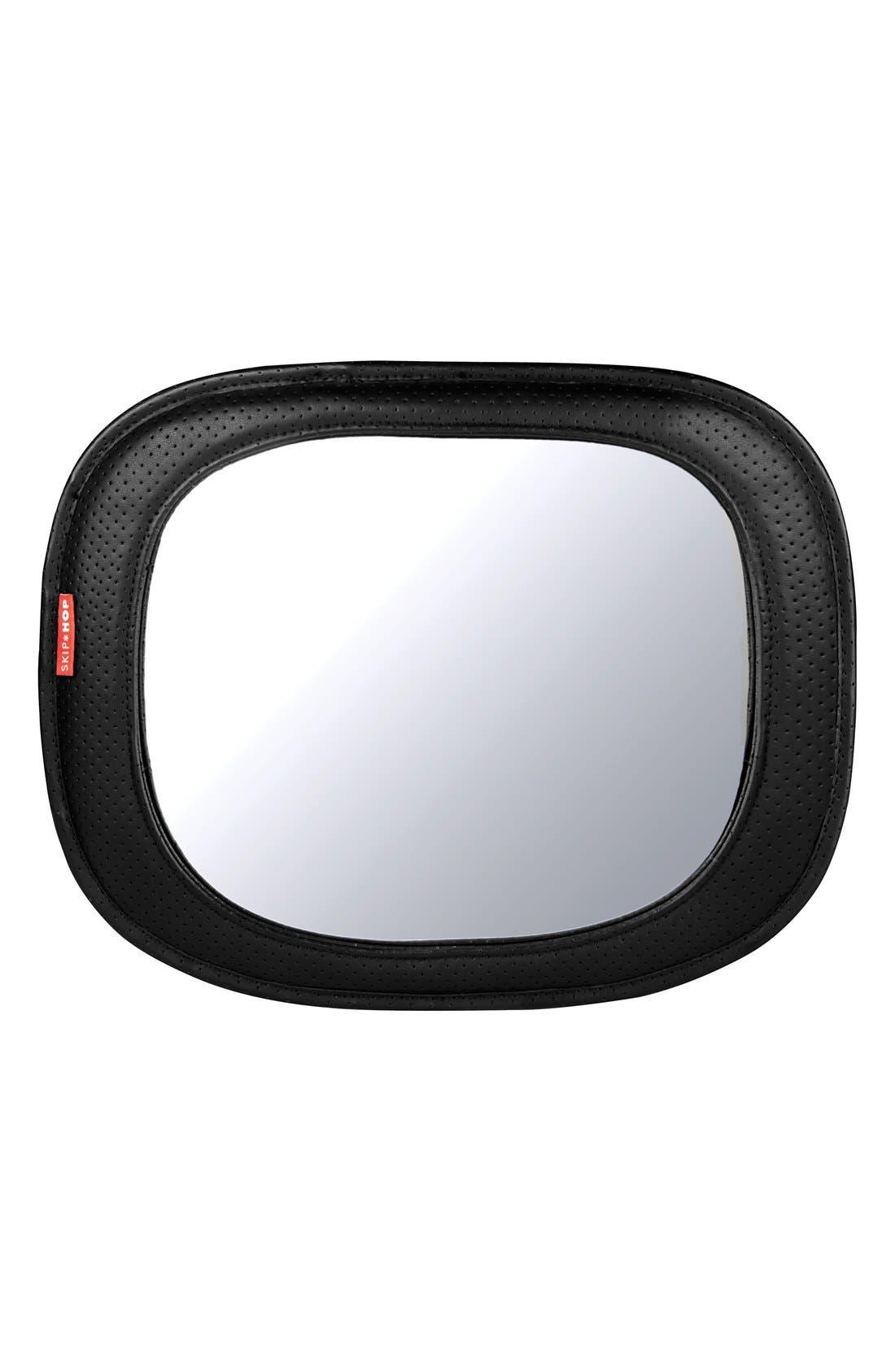 Backseat Mirror,                         Main,                         color, Dark Chevron
