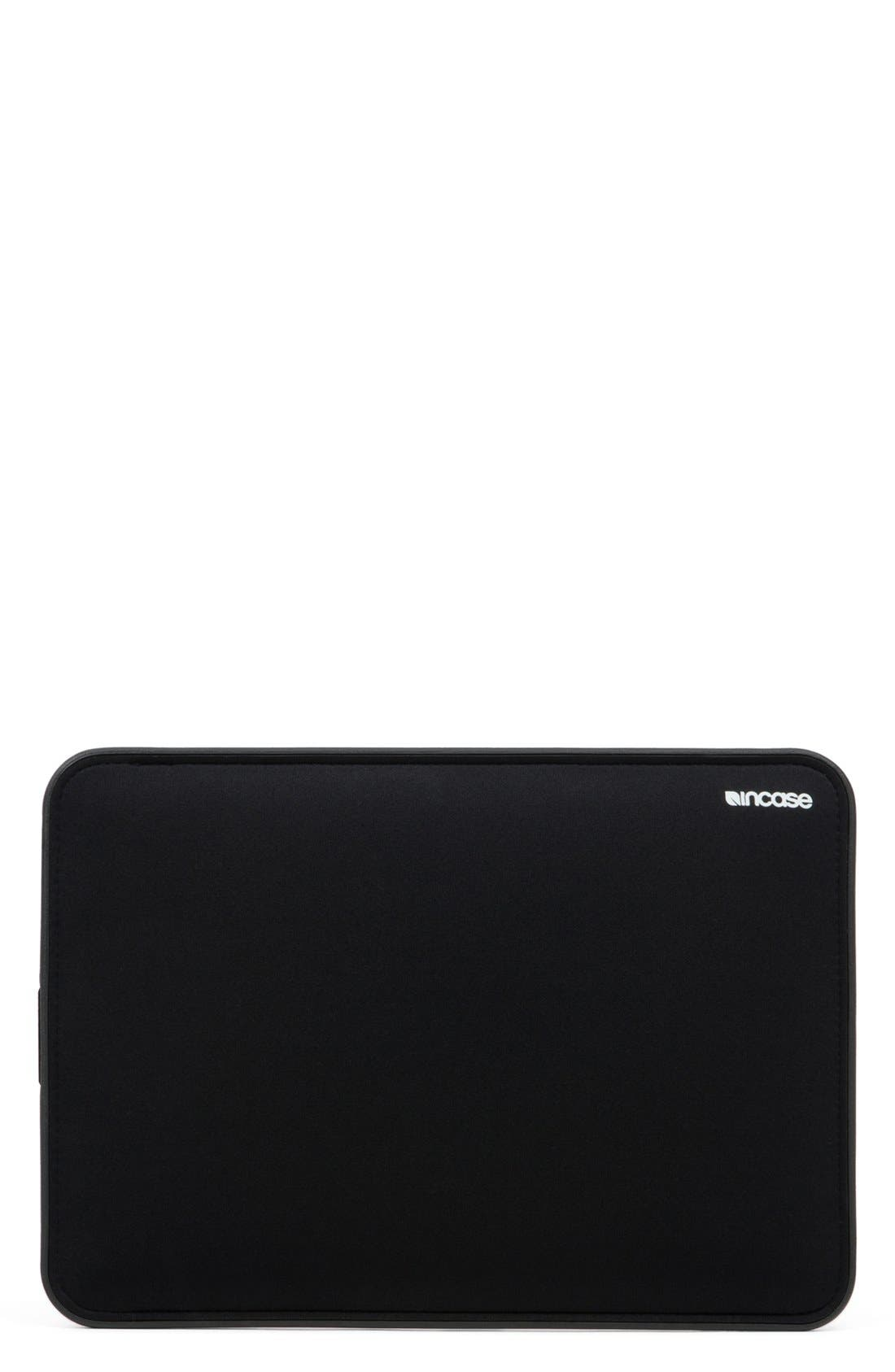 Icon 13-Inch MacBook Air Laptop Sleeve,                             Main thumbnail 1, color,                             Black