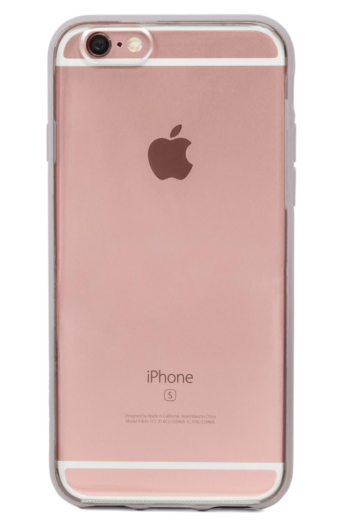 Pop Case iPhone 6 Plus/6s Plus Case,                             Alternate thumbnail 2, color,                             Clear/ Lavender
