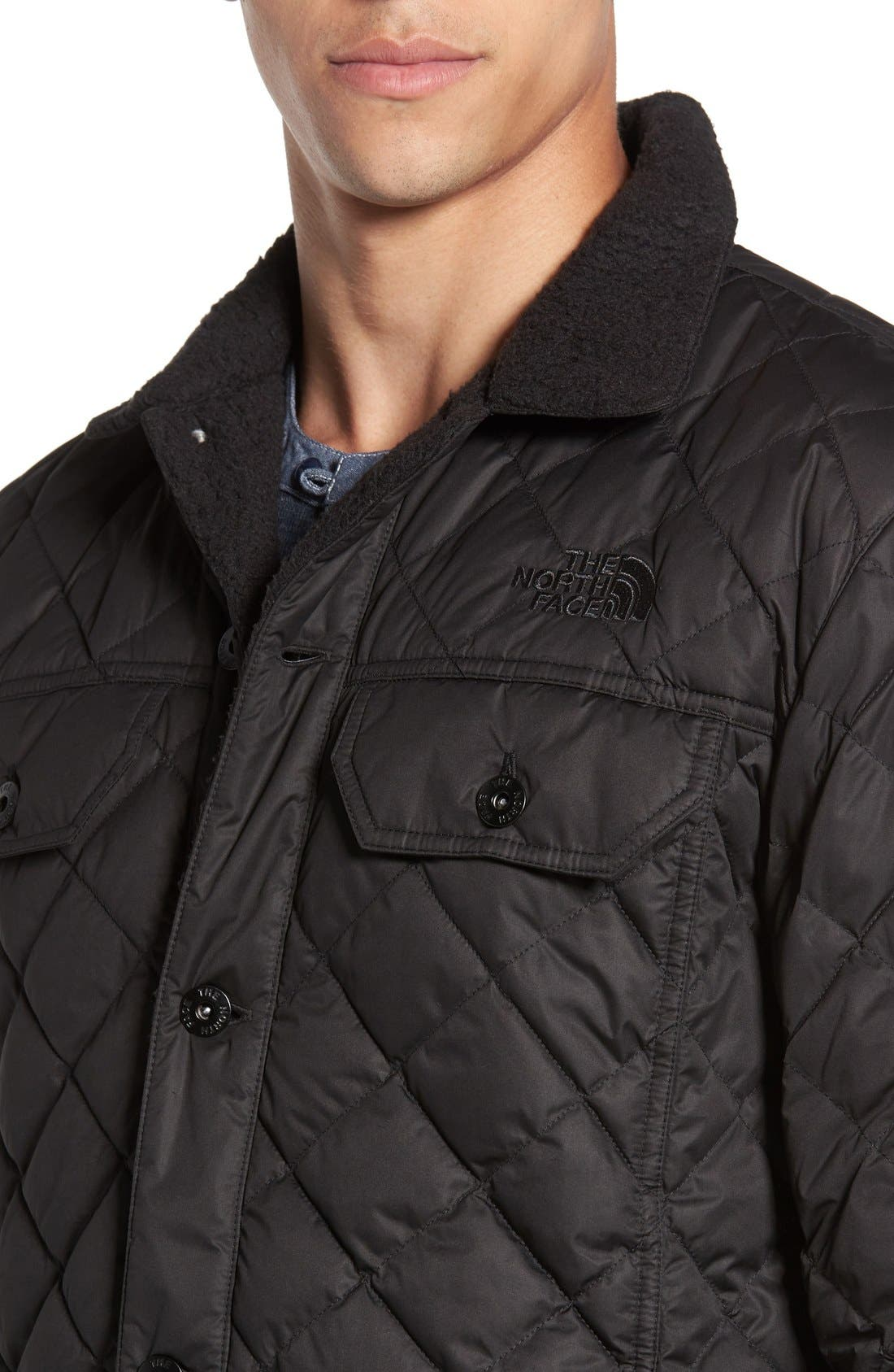 Alternate Image 4  - The North Face Sherpa Fleece Lined Quilted Jacket