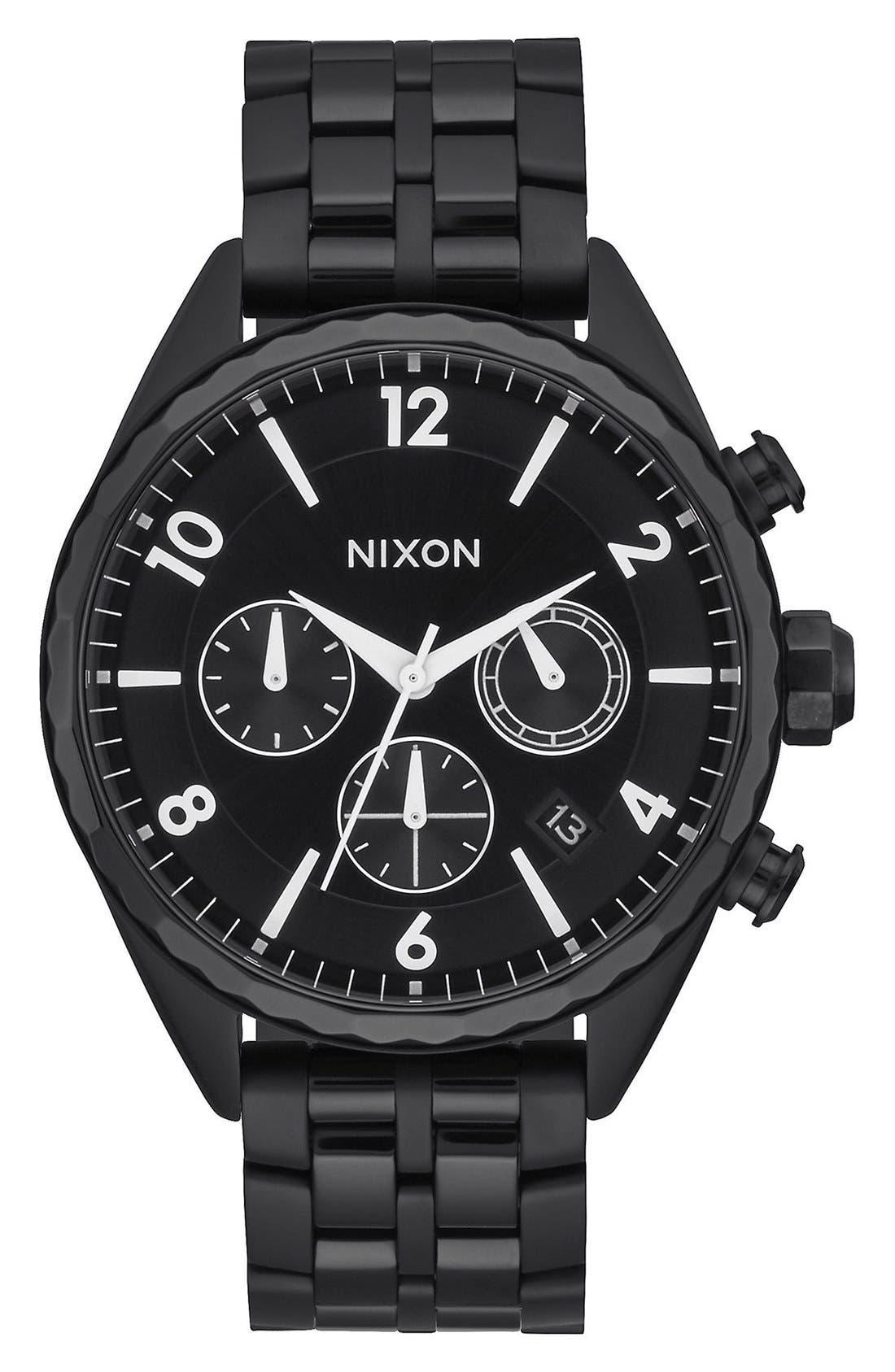 Alternate Image 1 Selected - Nixon 'Minx' Chronograph Bracelet Watch, 39mm