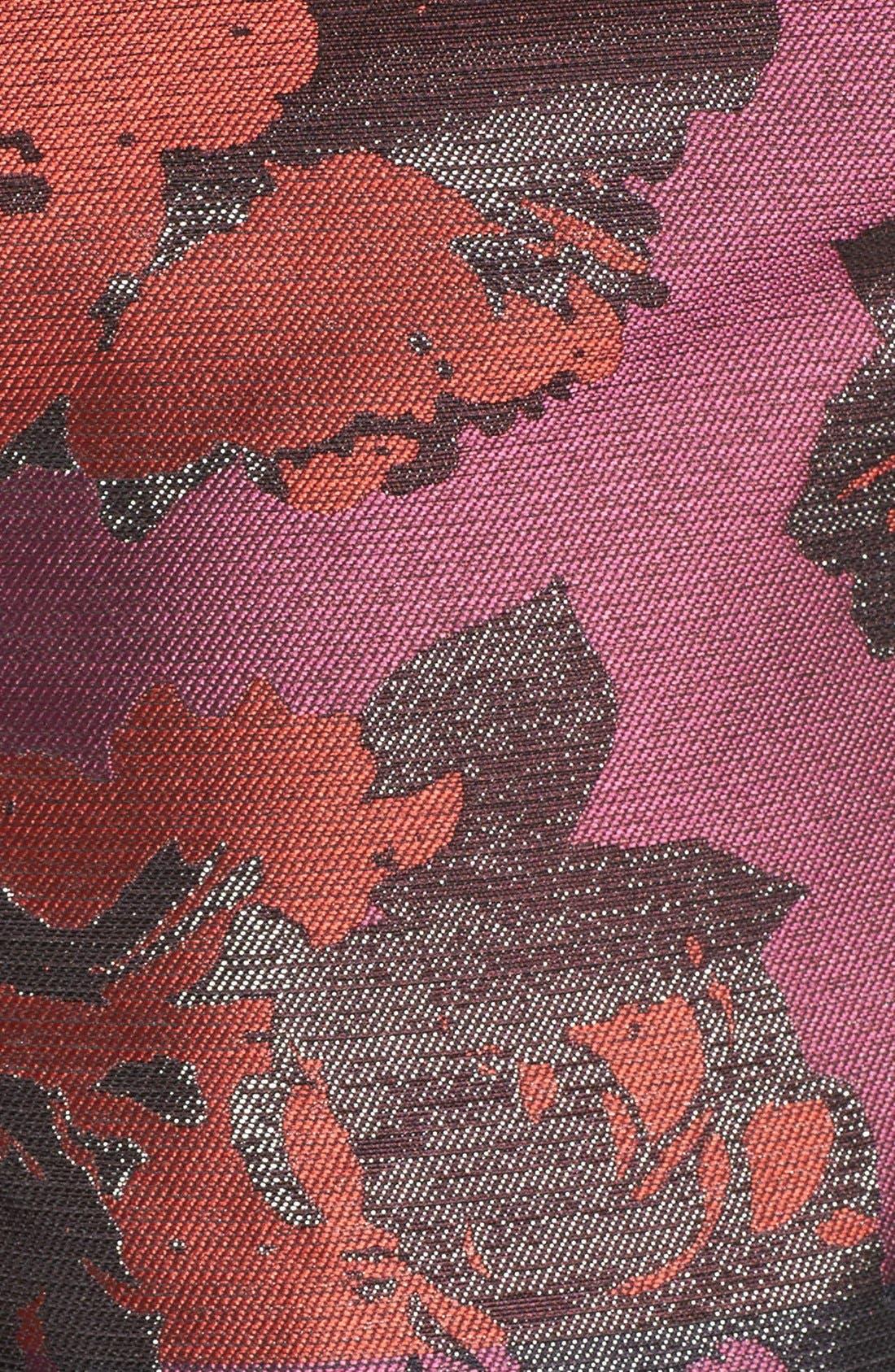 Alternate Image 5  - Vince Camuto Jacquard Fit & Flare Dress (Regular & Petite)