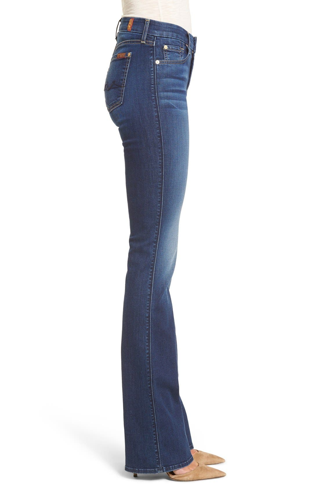 b(air) - Kimmie Bootcut Jeans,                             Alternate thumbnail 3, color,                             Duchess