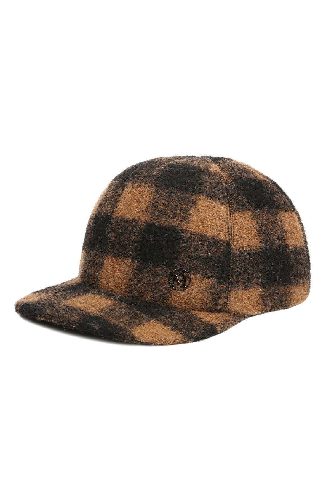 Alternate Image 1 Selected - Maison Michel 'Hailey' Baseball Cap