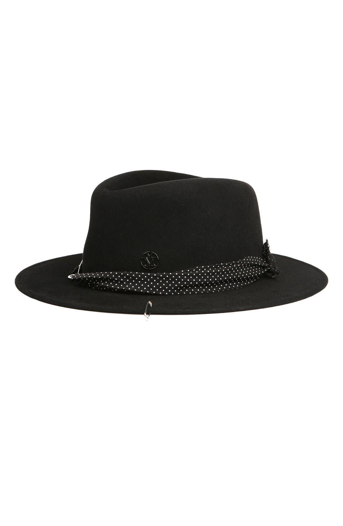 Maison Michel Thadee Fur Felt Hat