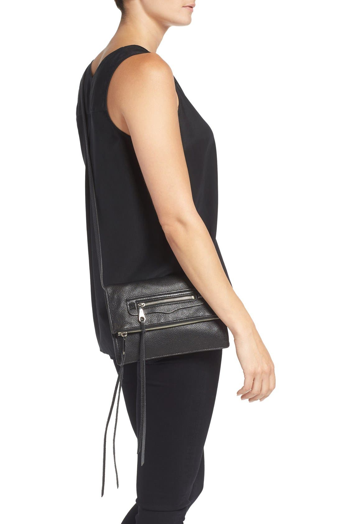 Alternate Image 2  - Rebecca Minkoff Small Regan Crossbody Clutch