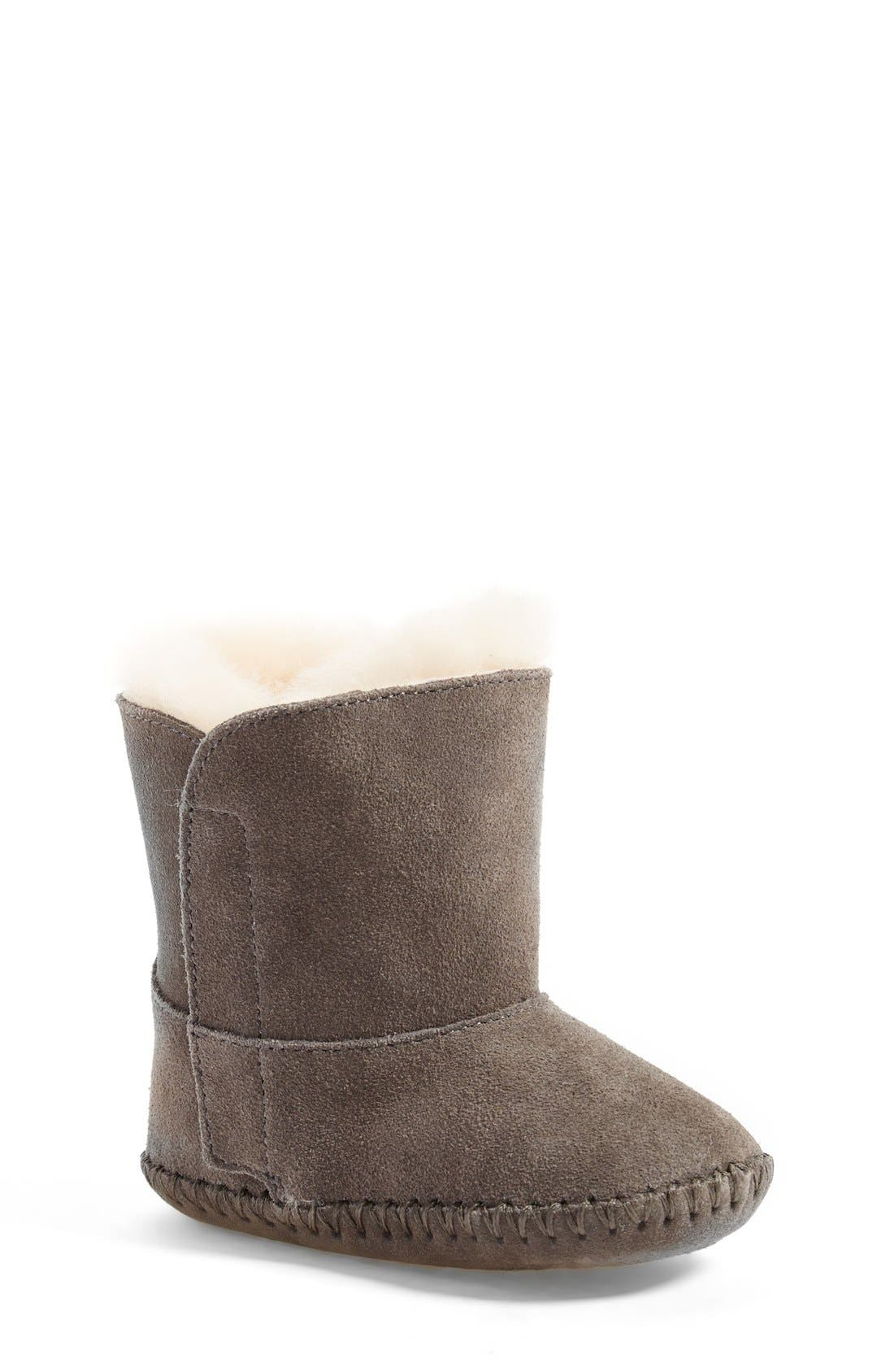 Alternate Image 1 Selected - UGG® Caden Boot (Baby & Walker) (Nordstrom Exclusive)