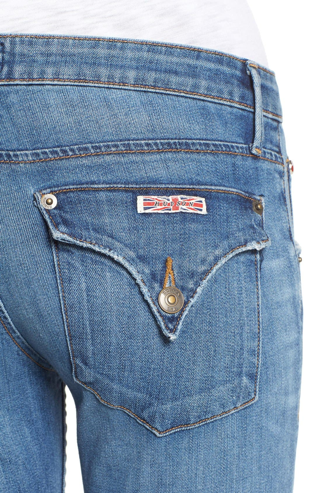 'Jax' Slim Boyfriend Jeans,                             Alternate thumbnail 4, color,                             Skip