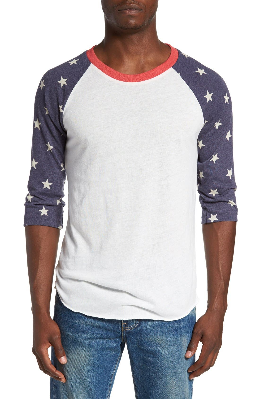 Alternative Print Baseball T-Shirt