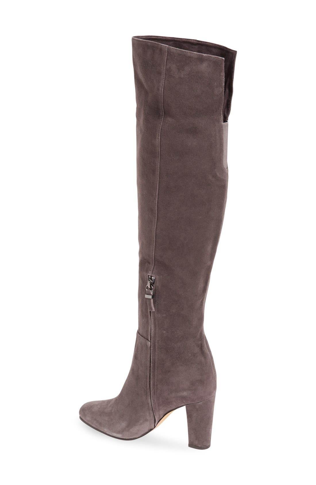 Alternate Image 2  - Halogen® 'Noble' Over the Knee Boot (Women)