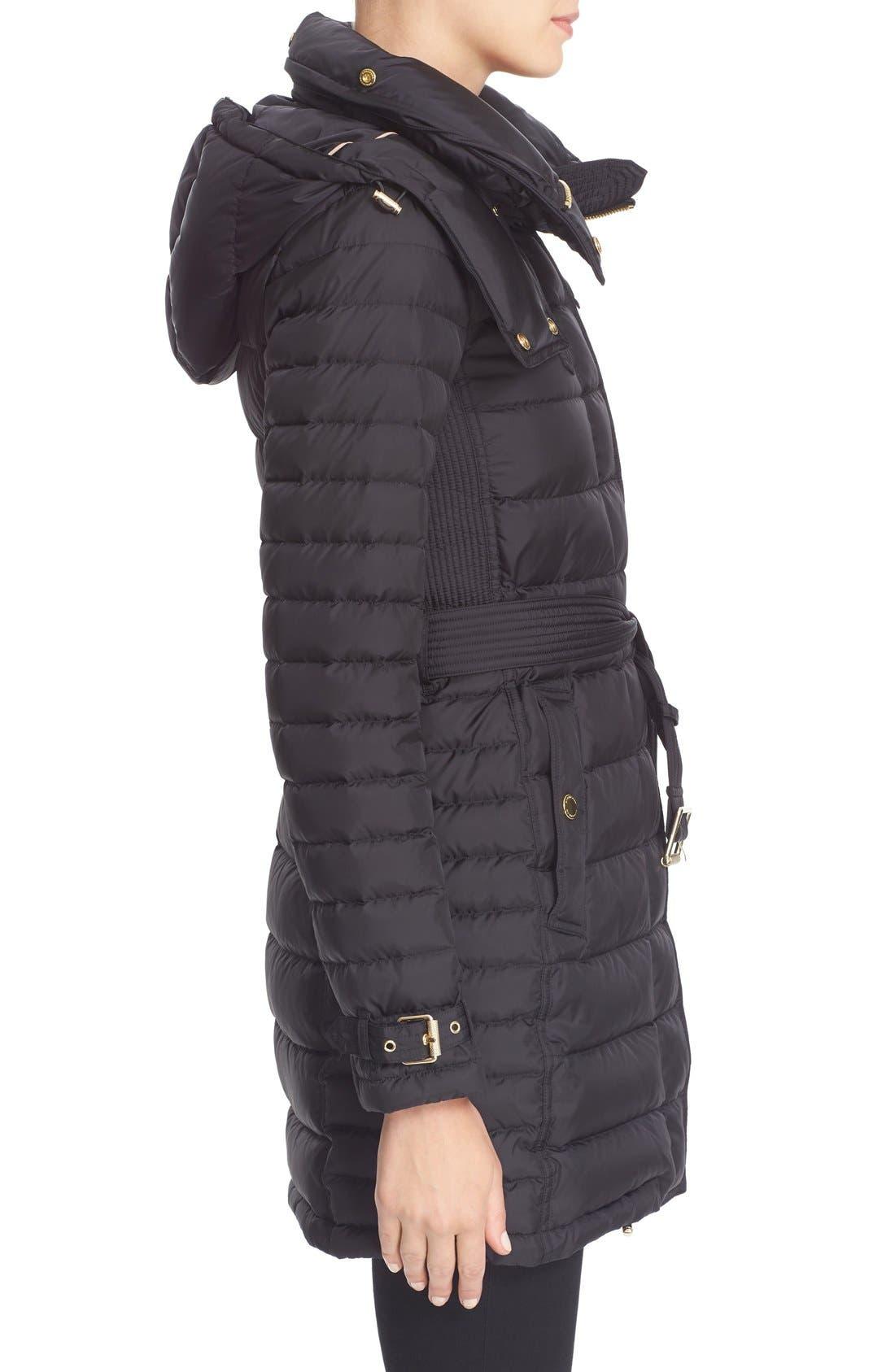 Alternate Image 5  - Burberry Harrowden Hooded Down Coat