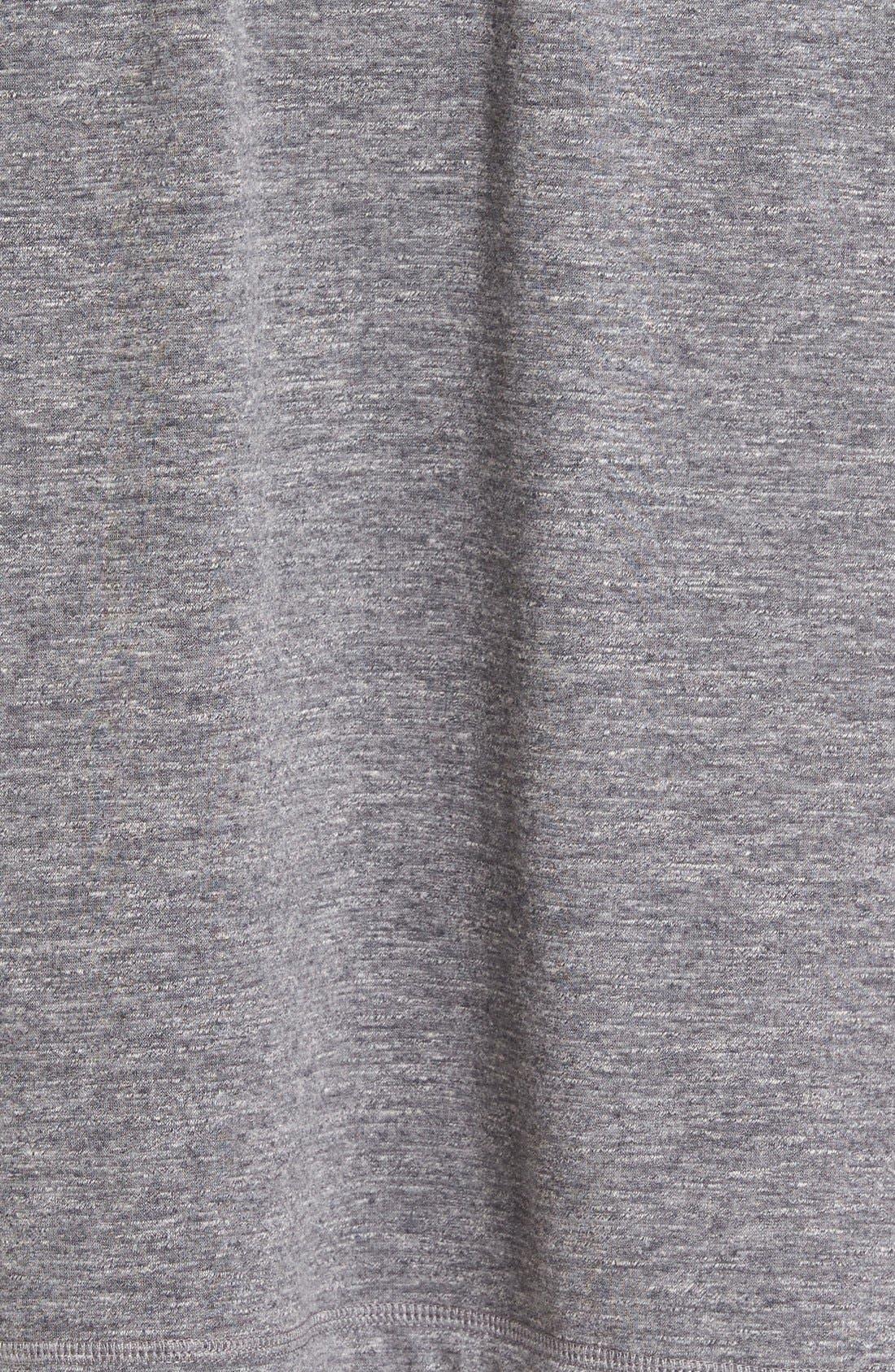 Alternate Image 5  - UGG® 'Robinson' Stretch Cotton Robe