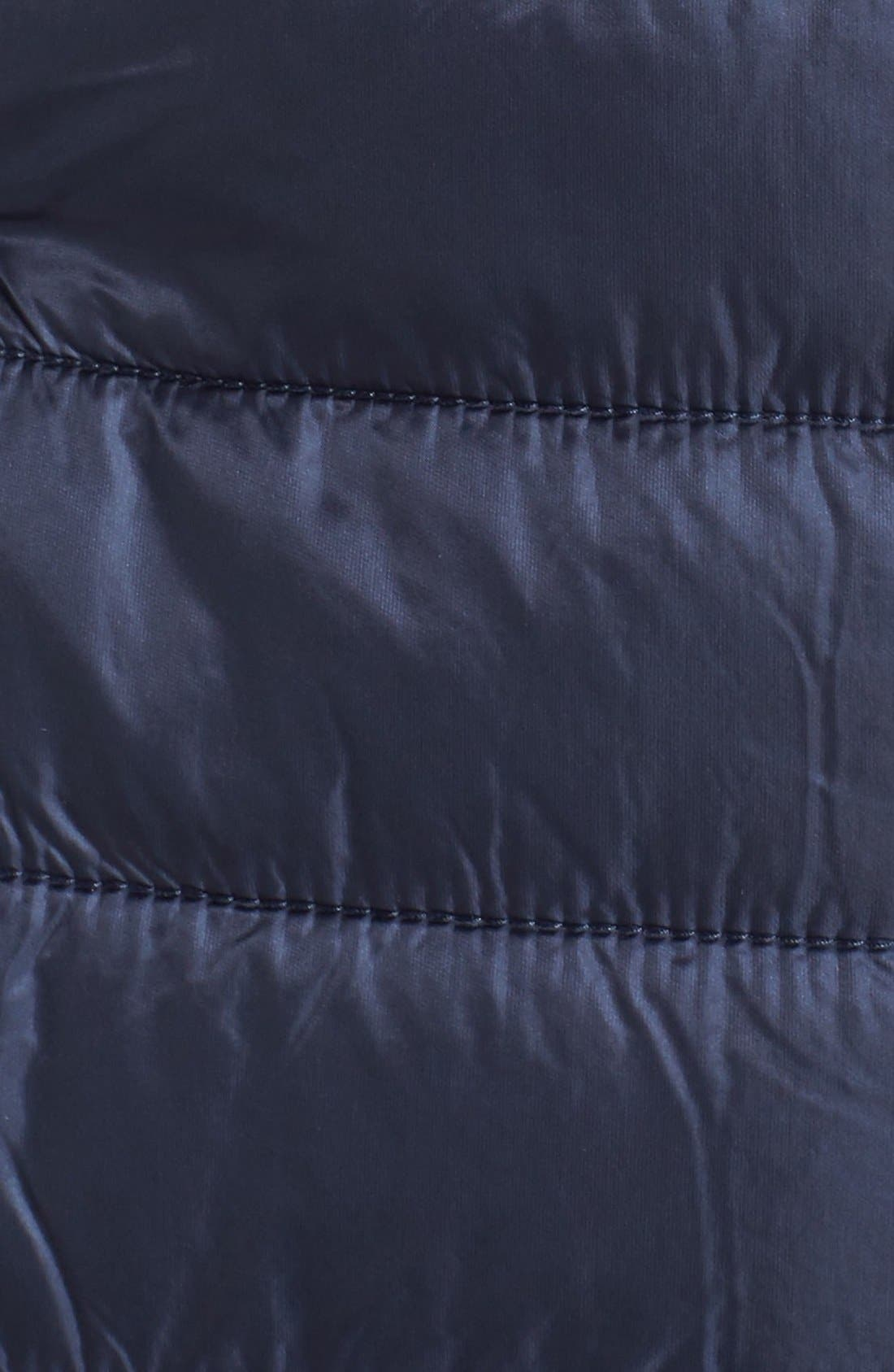 'Radalie' Water Repellent Parka,                             Alternate thumbnail 6, color,                             Navy Blue