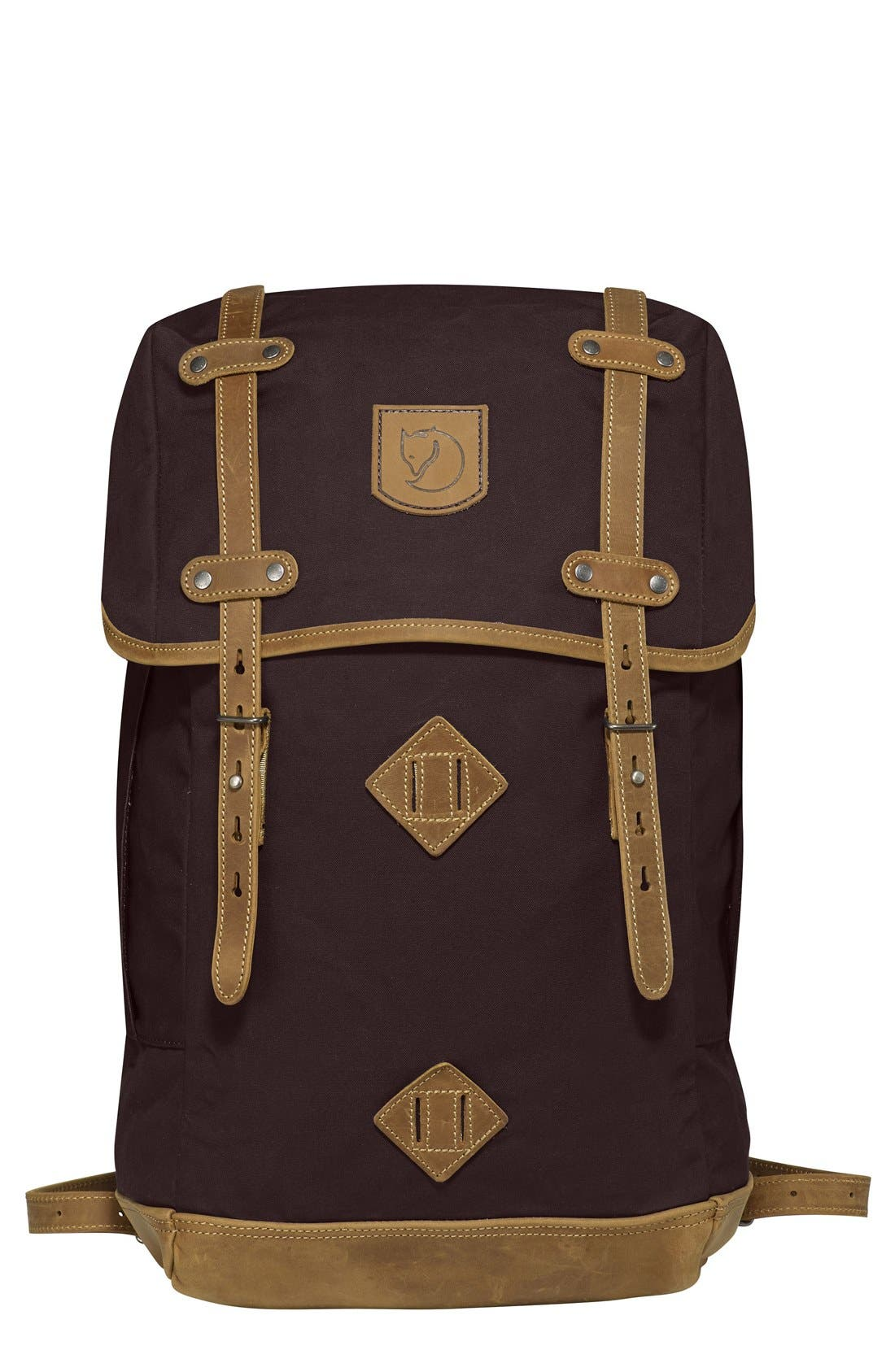 'Rucksack No. 21' Large Backpack,                             Main thumbnail 1, color,                             Hickory Brown