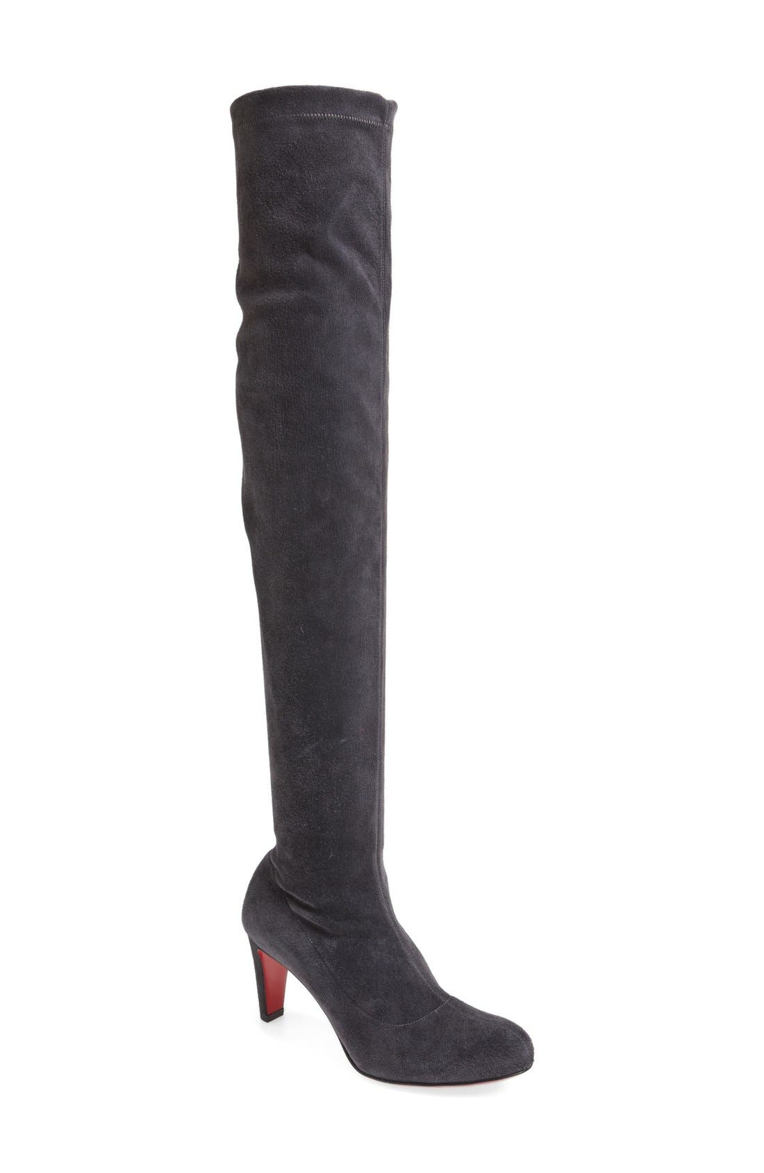 Christian Louboutin 'Alta' Over the Knee Boot