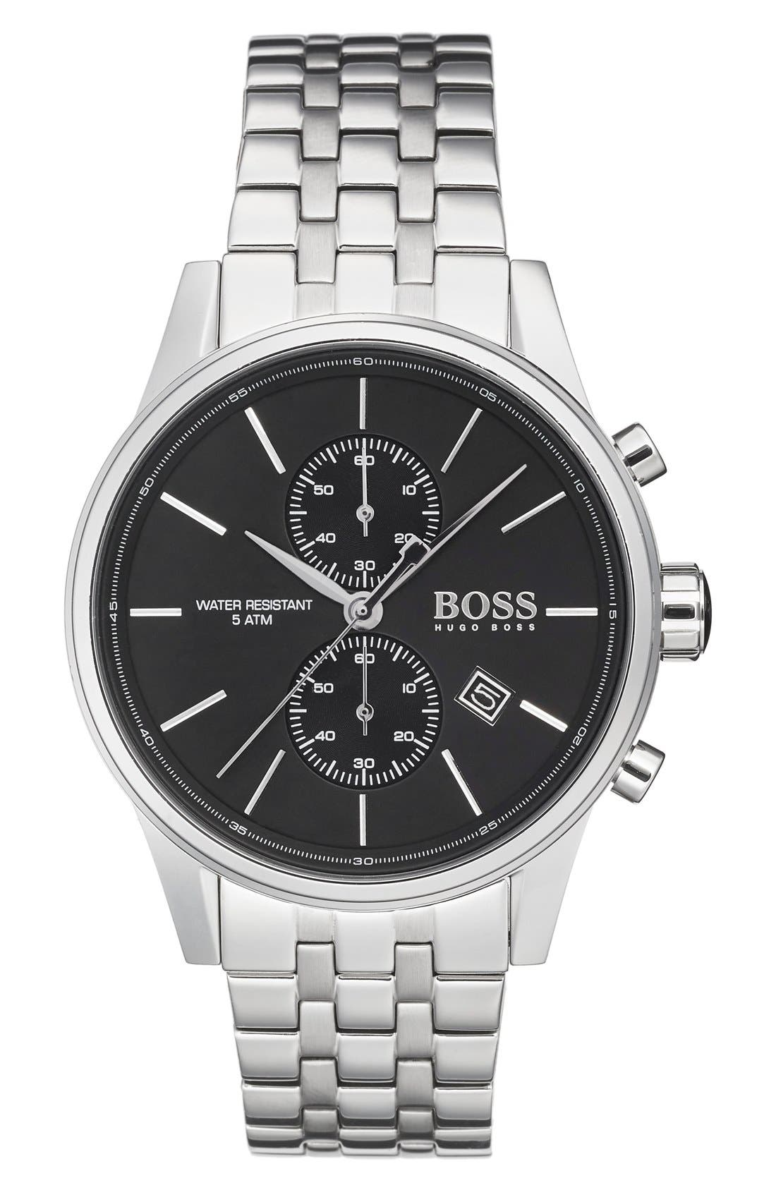 BOSS 'Jet' Chronograph Bracelet Watch, 41mm