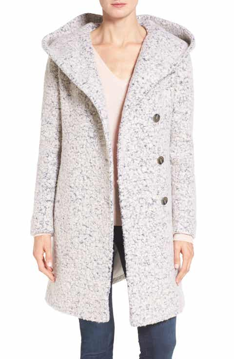 Women's White Wool & Wool-Blend Coats | Nordstrom