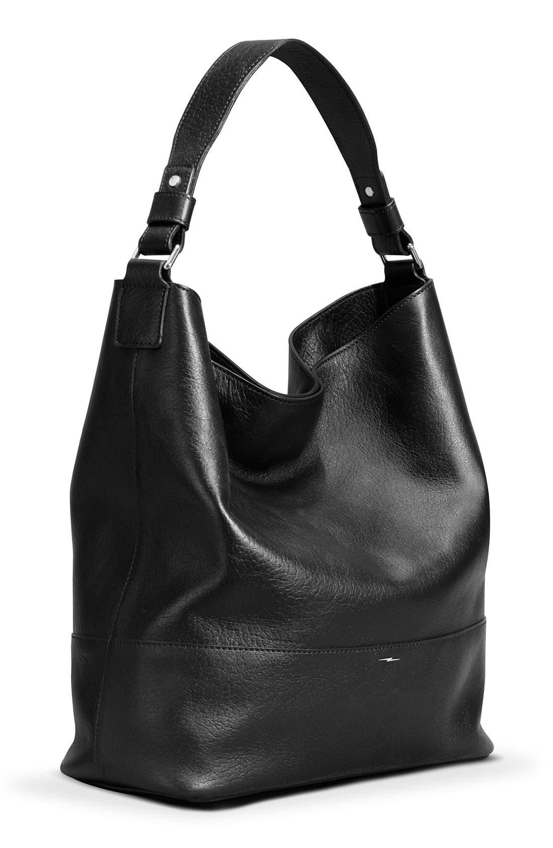 Alternate Image 6  - Shinola Relaxed Leather Hobo Bag