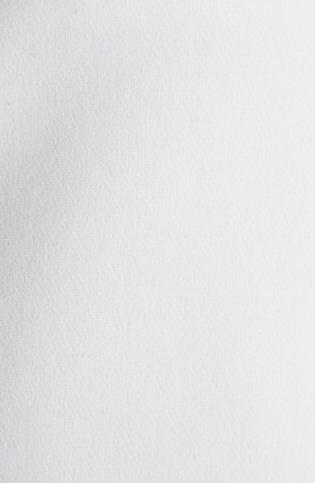 Alternate Image 3  - Victoria Beckham Cap Sleeve Cotton Blend Sheath Dress