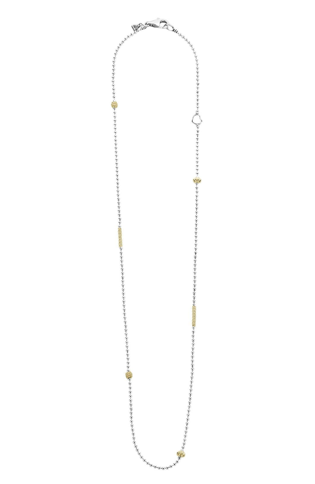 LAGOS Caviar Icon Chain Necklace