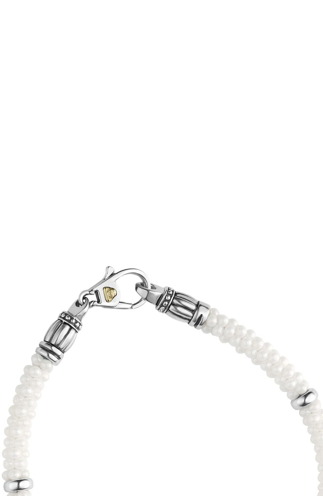 Alternate Image 3  - LAGOS 'Black & White Caviar' Bracelet