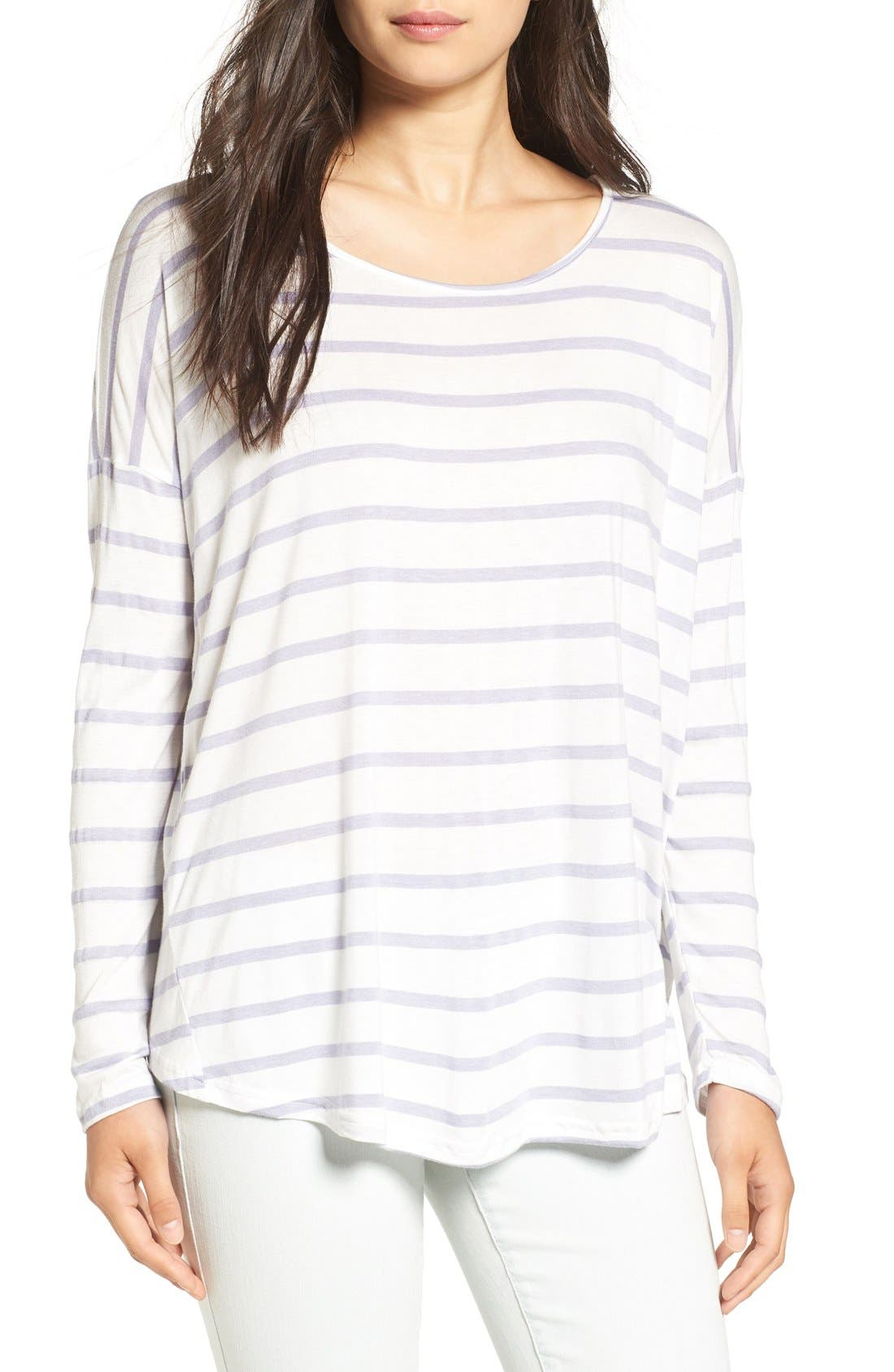 Alternate Image 1 Selected - Billabong 'Change the World' Stripe Long Sleeve Tee