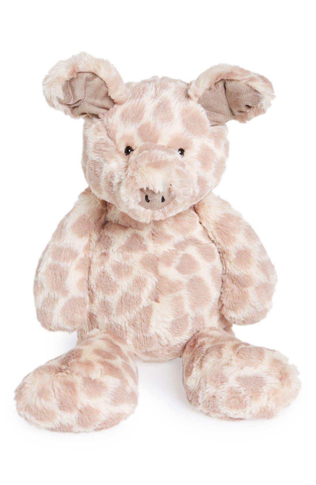 'Dapple Piglet' Stuffed Animal,                         Main,                         color, Pink